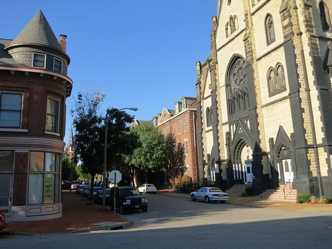 A quaint Soulard scene. - PHOTO COURTESY OF FLICKR/PAUL SABLEMAN