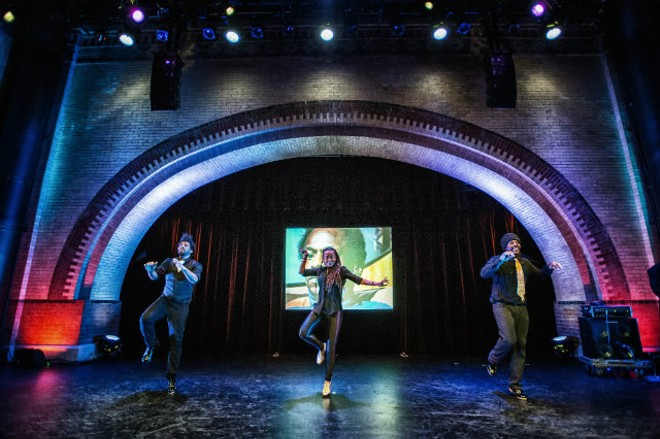 Three of the world's greatest tap dancers are coming to the Grandel this weekend. - PHOTO BY MARC MILLMAN PHOTOGRAPHY.