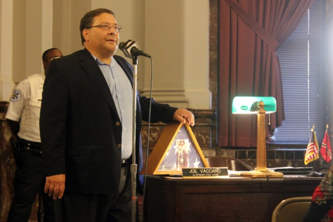 Alderman Joe Vaccaro says he wants people to see 'other sides' of the protests. - PHOTO BY DOYLE MURPHY