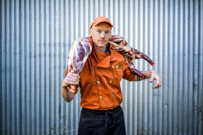 Chef Rob Connoley's Squatters Cafe will open in Grand Center on November 1st. - JAY HEMPHILL