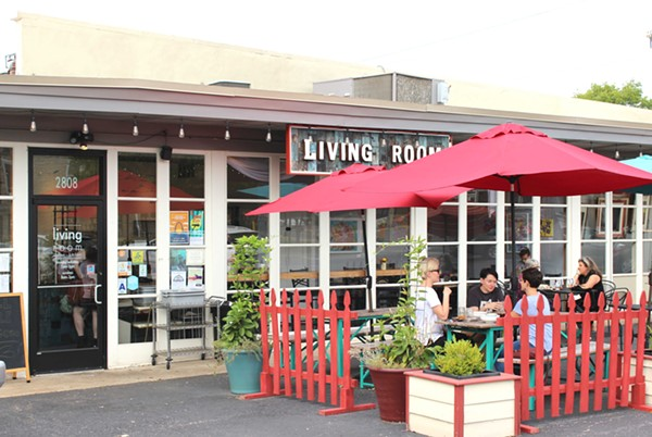 Living room expands from coffee house to cafe food blog for Living room maplewood