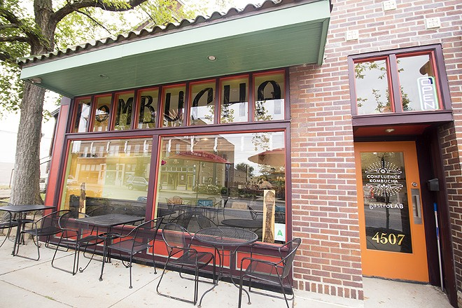 Confluence Kombucha is located in the Grove. - MABEL SUEN