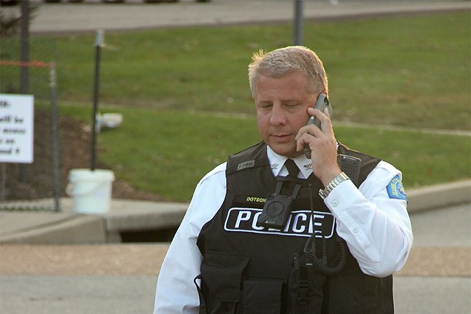 Ex-St. Louis police Chief Sam Dotson is job hunting in Texas. - PHOTO BY DANNY WICENTOWSKI