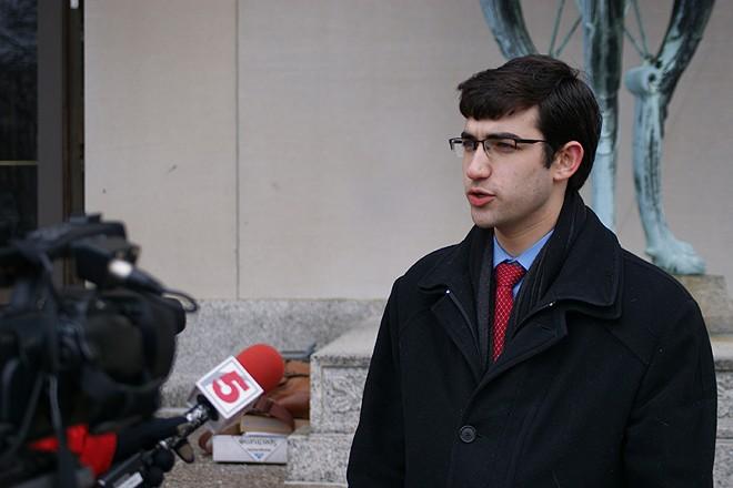 Activist and researcher Aaron Malin. - COURTESY OF AARON MALIN
