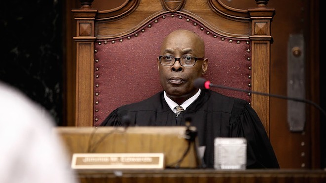 Judge Jimmie Edwards, who takes over as St. Louis' public safety director next month, plays a key role in the documentary. - FOR AHKEEM PRESS KIT
