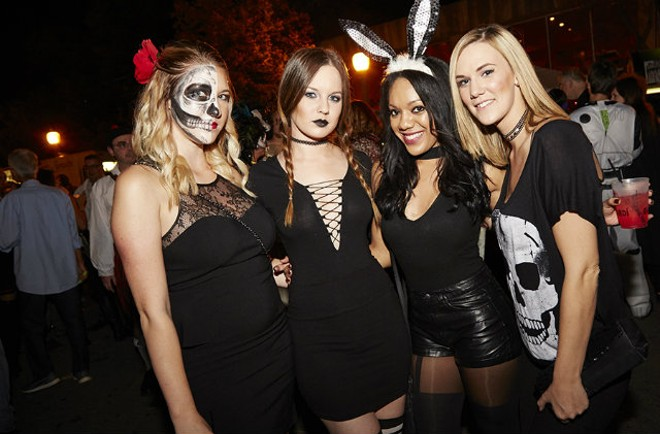 The Central West End Halloween party is always one of the best in town. - PHOTO BY STEVE TRUESDELL
