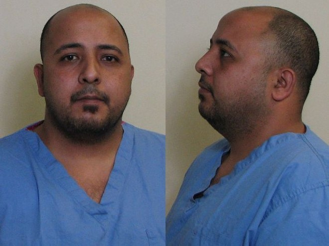 Mahmoud Massoud made up a story about being attacked, police say. - PHOTO COURTESY OF HIGHLAND POLICE DEPARTMENT