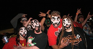 Insane Clown Posse at Pop's (NSFW)
