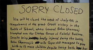 "13 Homemade ""Sorry We're Closed"" Signs"