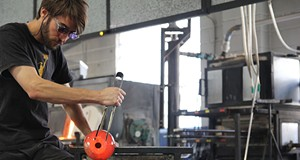 Glassblowing at Third Degree Glass Factory