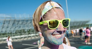 People of the The Color Me Rad Run
