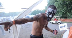 Scenes from Day 2 of the Gathering of the Juggalos, 2013 (NSFW)