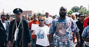 National March on Ferguson Leads Protesters to Police Station