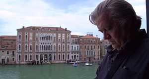 <i>The Brink</i> Gets Up Close and Personal with Steve Bannon. Ewww