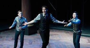 The Rep's First-Ever <i>Hamlet</i> Is a Hammy Take on Shakespeare's Classic
