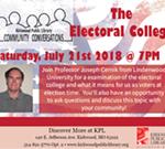 Electoral College Presented by Dr. Joseph Cernik