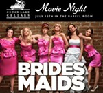 Cedar Lake Cellars' July Movie Night