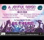 A Joyful Noise: Christian Hip Hop and Spoken Word Festival