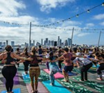 Deep House Yoga on the Roof