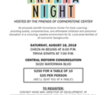 Cornerstone Center Trivia Night