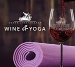 Cedar Lake Cellars' Wine and Yoga