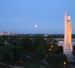 Compton Hill Water Tower Full Moon Viewing