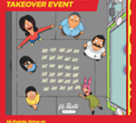Bob's Burgers Takeover