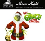 Cedar Lake Cellars' December Movie Night