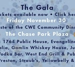 The Gala Taste of the CWE Community Dinner