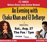 An Evening with Chaka Khan and El DeBarge