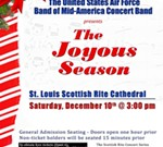 "USAF Band of Mid-America presents ""A Joyous Season"""