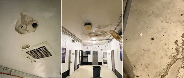 Video From Inside St. Louis Workhouse Jail Shows Leaks, Bugs and Decay