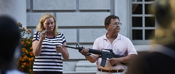 McCloskeys Plead Guilty to Misdemeanors, Give Up Guns