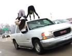 Wild St. Louis Ladies Twerk on SUV's Roof as It Rolls Down the Highway