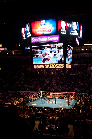 2011 Guns 'N' Hoses Charity Boxing Event