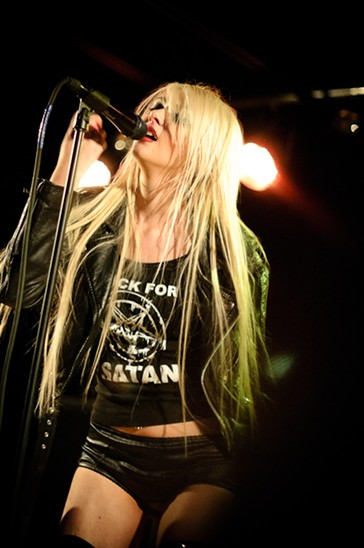 The Pretty Reckless at the Firebird