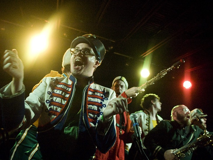 Mucca Pazza at the Firebird, 5/22/10