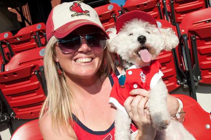 Pooches at the Ballpark 2014