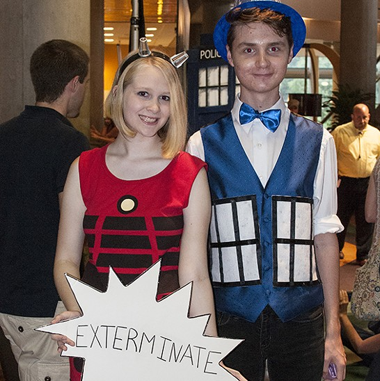<i>Doctor Who</i> Fashion at the Saint Louis Science Center