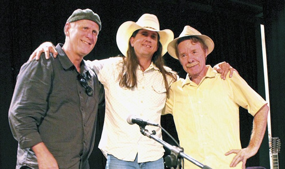 From left, Dave Black, Brian Curran and Tom Hall: St. Louis guitar masters.
