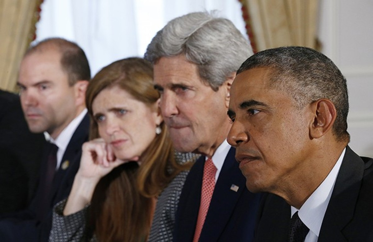 Ben Rhodes, Samantha Power, John Kerry and Barack Obama used competence and diplomacy to forge a better world -- what happened next will shock you.