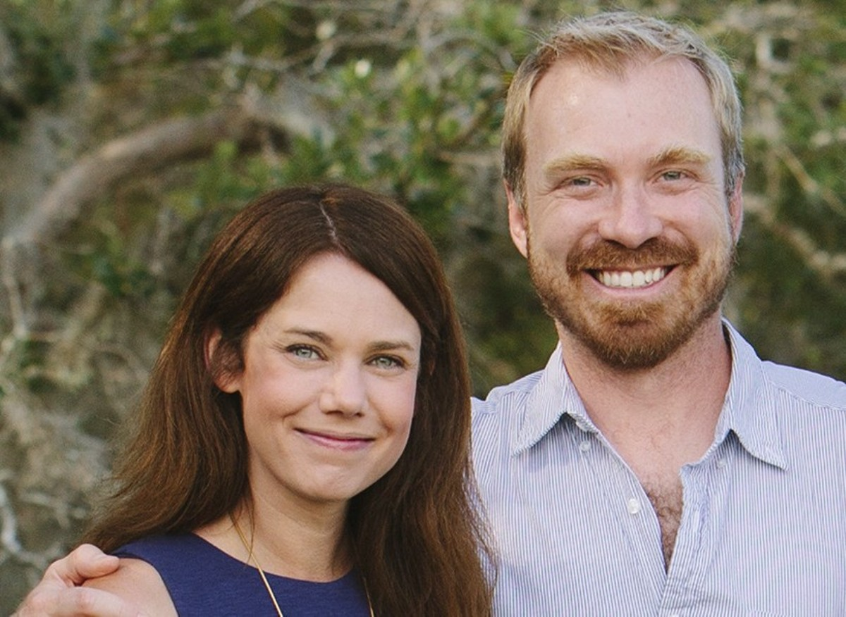 Kate and JD Dobson.