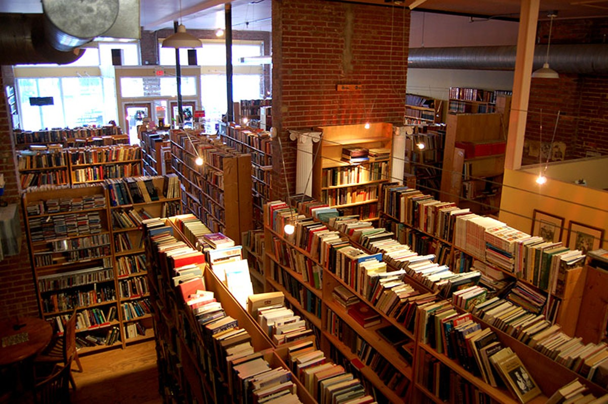 Dunaway's Books offers a treasure trove for lovers of old books.