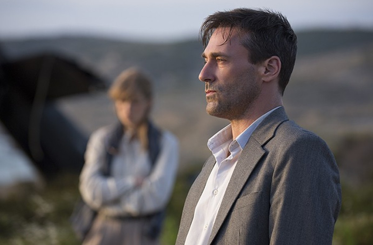 Jon Hamm is the strong center holding together the throwback thriller Beirut.