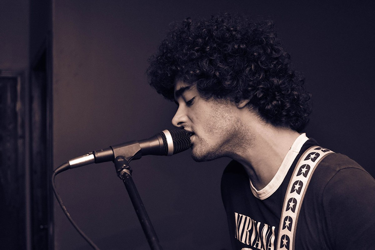 Though he typically performs with a live band, Cataldo's records as Dear Genre are all him.