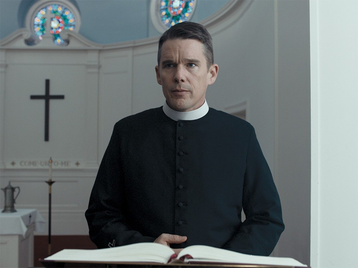 Reverend Toller (Ethan Hawke) has many problems, and then Mary and her husband Michael come into his life.