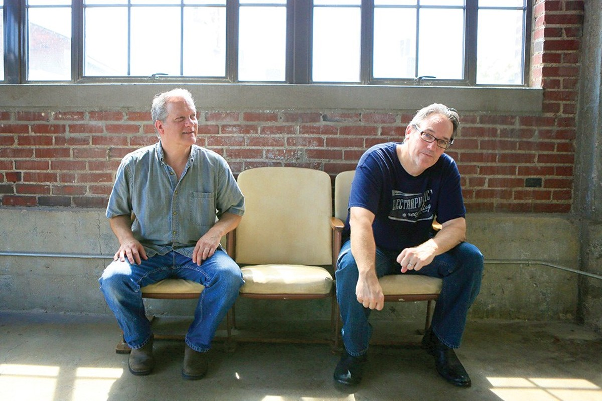 Andy Ploof, left, and John Wendland have performed together for decades across numerous acts.