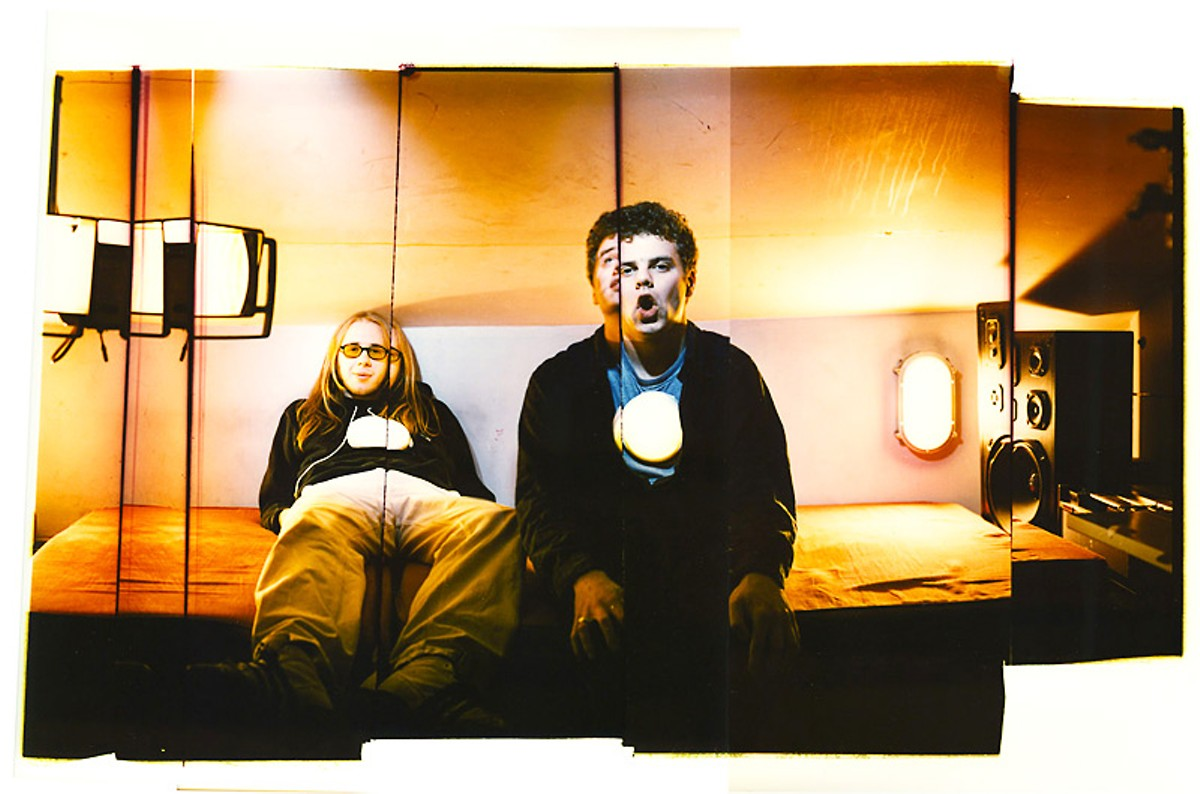 Joseph Cultice's 1997 photo of the Chemical Brothers.