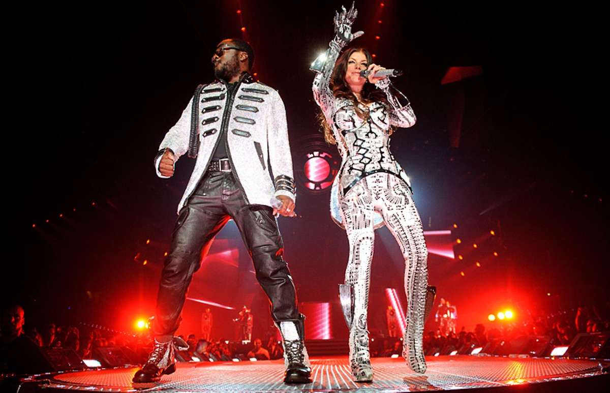 Black Eyed Peas' space-age love songs rocked the Scottrade Center last weekend.