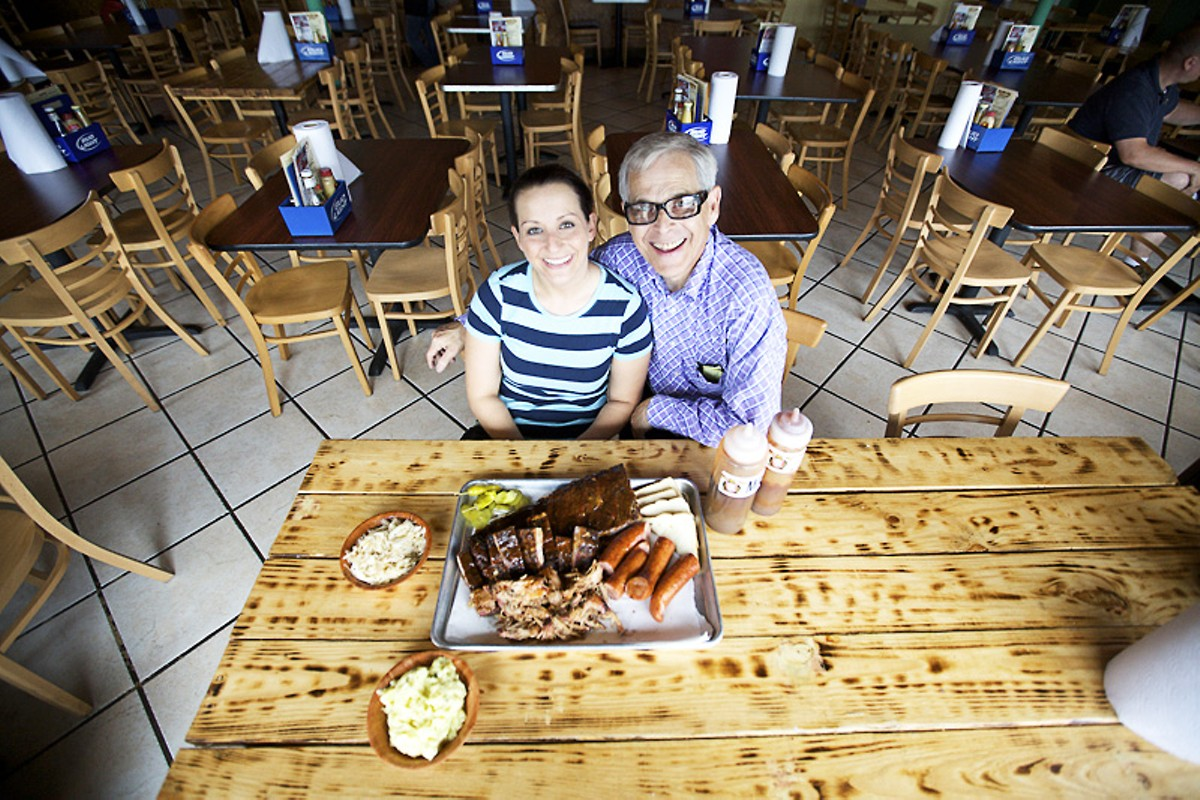 Swine not? Angie and Larry Lampert have moved the family biz to Rock Hill. Plush Pig Barbeque slideshow.